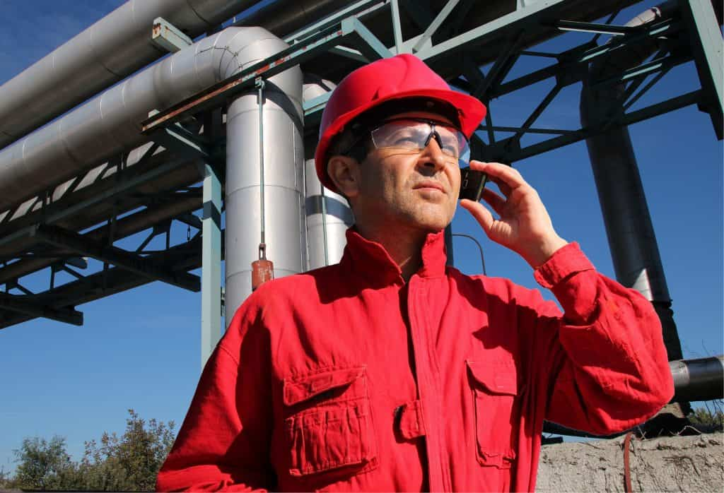 Vertrarib chemical storage tank worker
